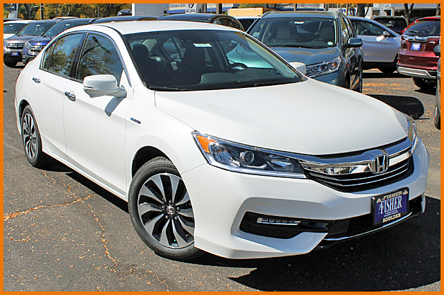 2017 Honda Accord Hybrid CVT EX-L Sedan