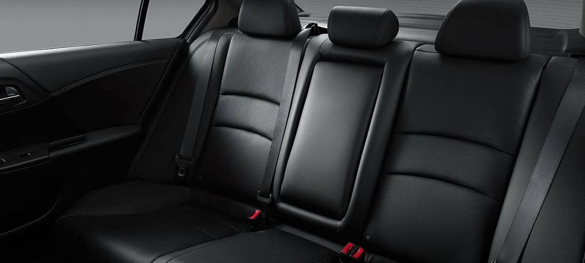 2017 Honda Accord Touring Rear Seat