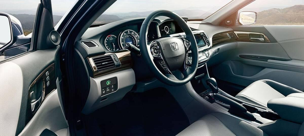 2017 Honda Accord Sedan Touring Interior View
