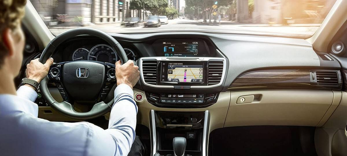 2017 Honda Accord Sedan Touring Interior Dashboard
