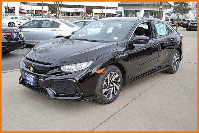 2017 Honda Civic Hatchback CVT LX