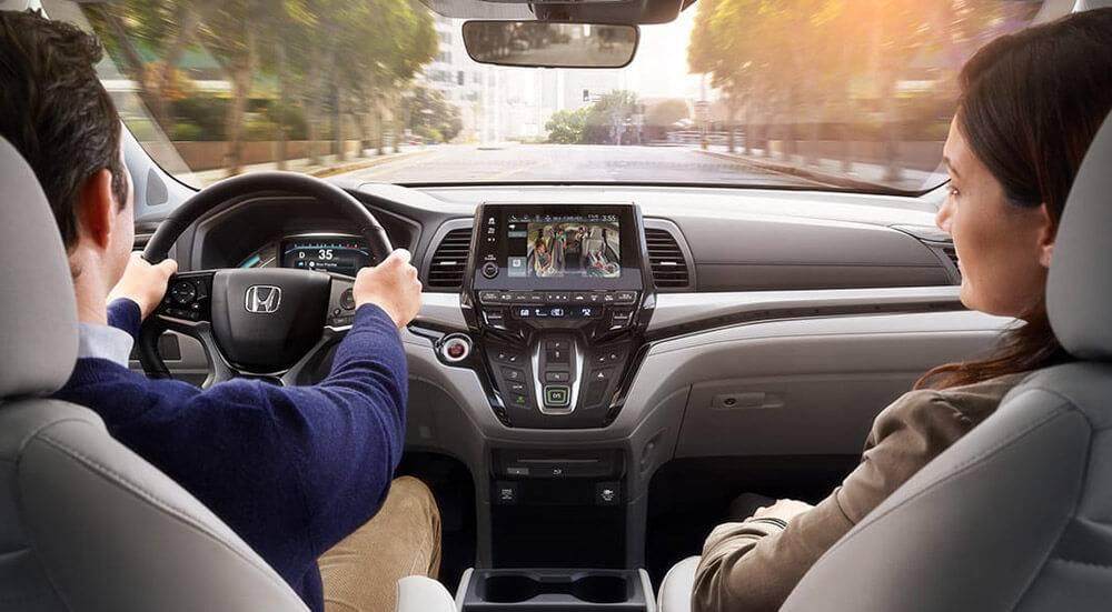 2018 Honda Odyssey Interior Dashboard