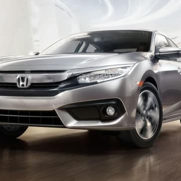 2018 Silver Honda Civic Sedan