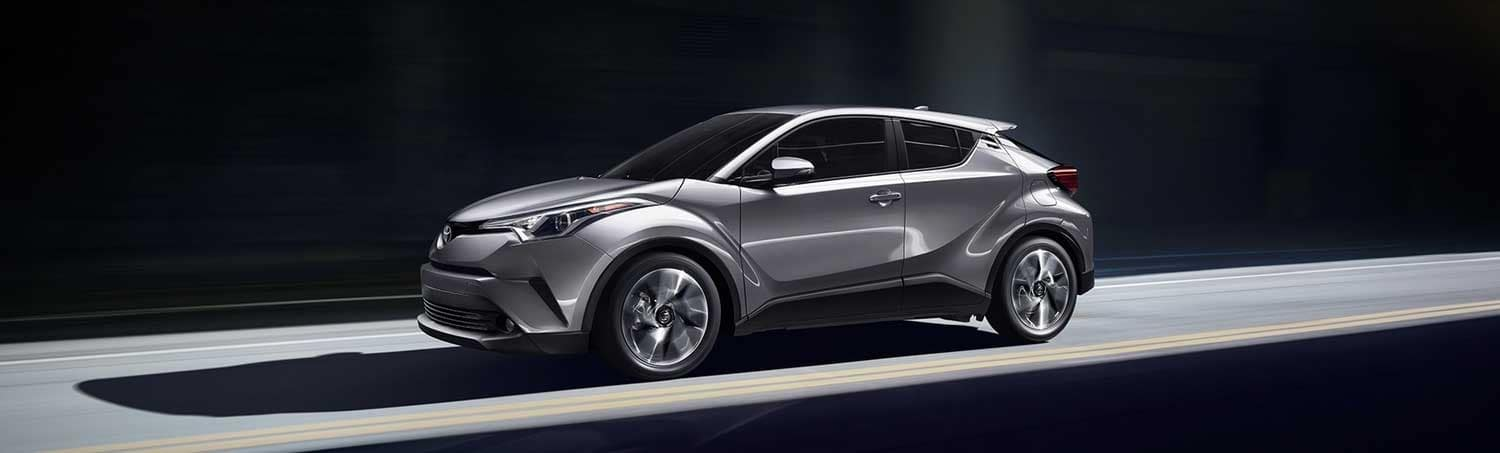 Toyota 2018 C-HR in silver