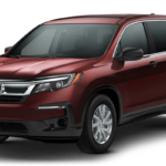 2019 Honda Pilot LX in Red