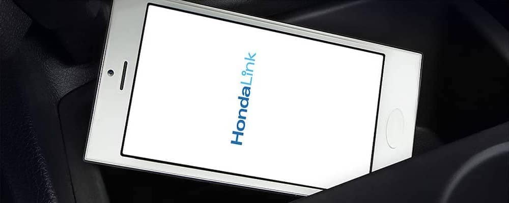 HondaLink on a smartphone screen