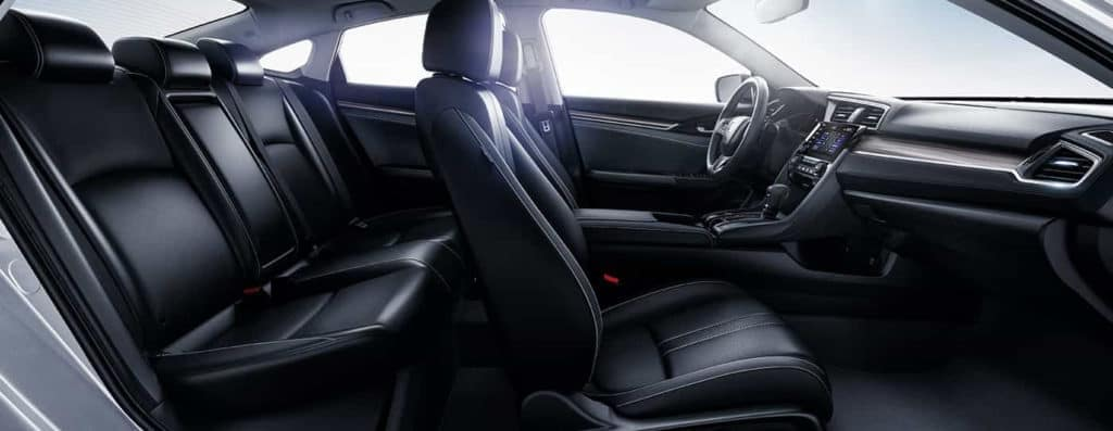2019 Honda Civic Leather Seating Cross-Section