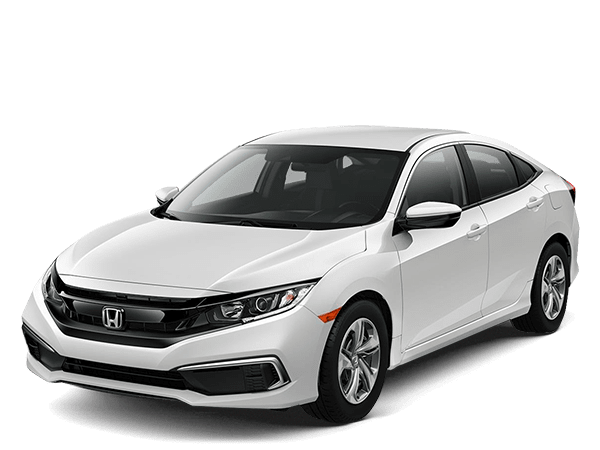 2019 Honda Civic Sedan Platinum White PearL LX