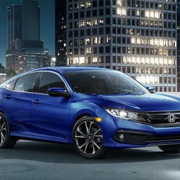 2019 Honda Civic Parked
