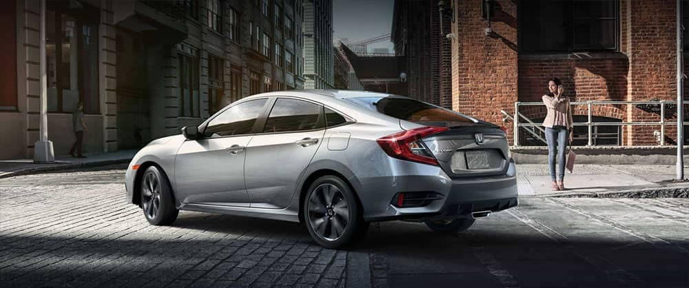 2019 Honda Civic Rear