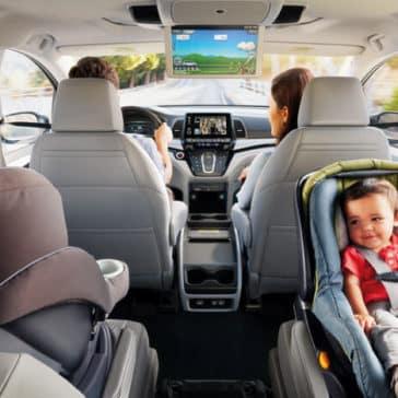 2019 Honda Odyssey Passengers