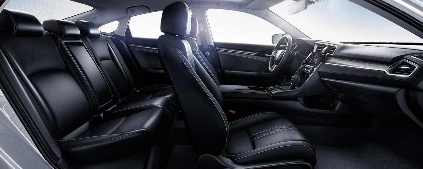 2020 Honda Civic interior profile