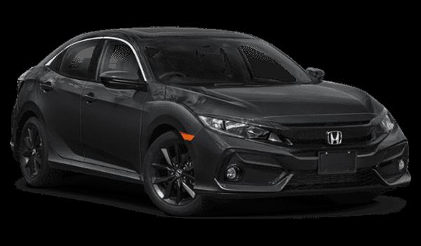 2020 Honda Civic pointing right
