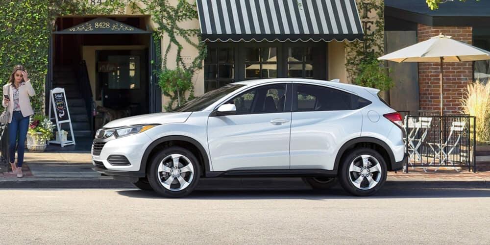 2020 Honda HR-V Parked on city street