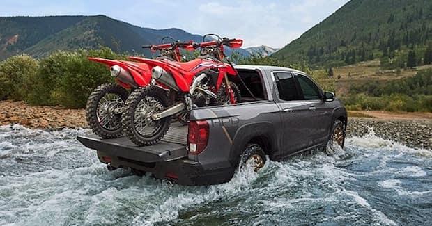 2021 Honda Ridgeline in Water
