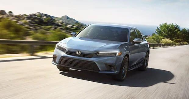 2022 Honda Civic on Highway