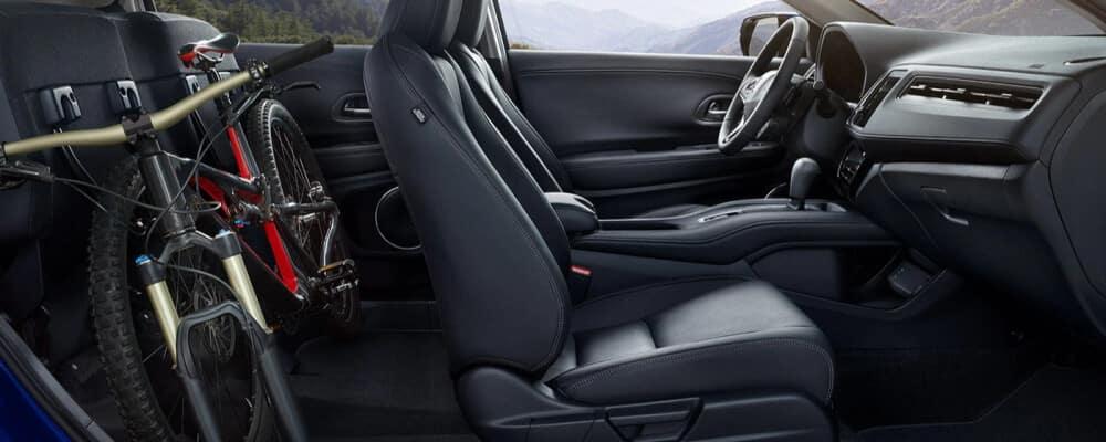2021 Honda HR-V backseat cargo space