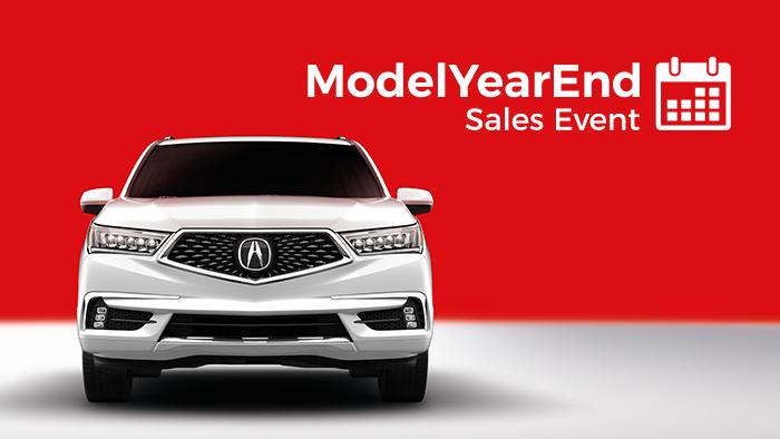 Model Year End Sale