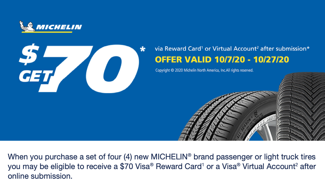 St Louis Acura Tire Special Michelin Rebate Offer