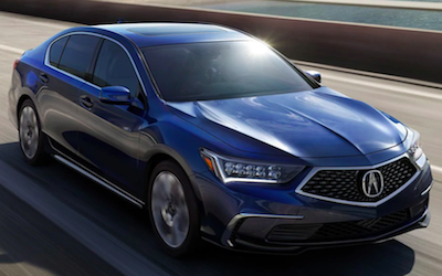 2019 Acura RLX packages