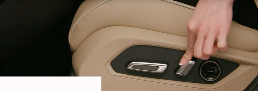 Adjust Acura seatback angle
