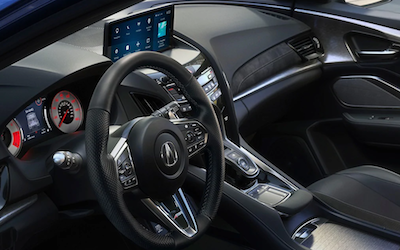 2021 Acura RDX steering wheel
