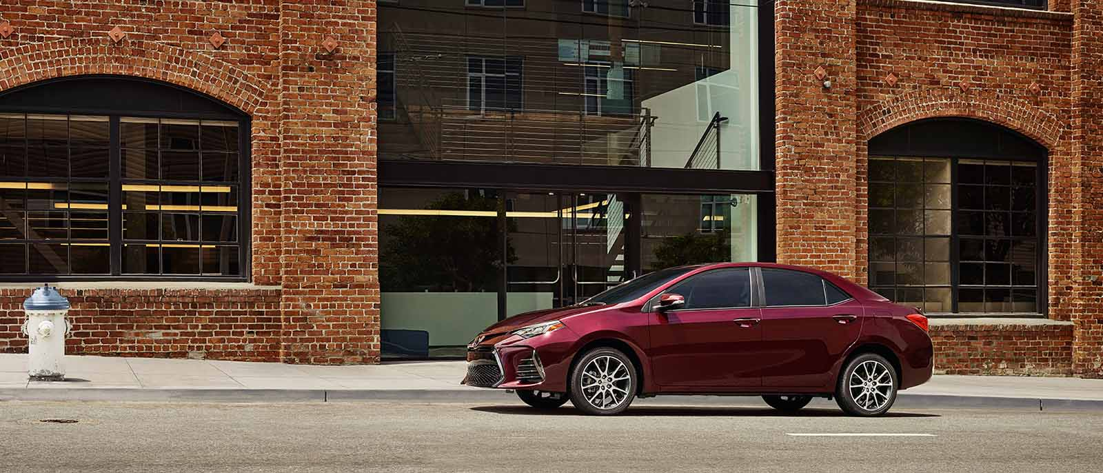2017 Toyota Corolla Red