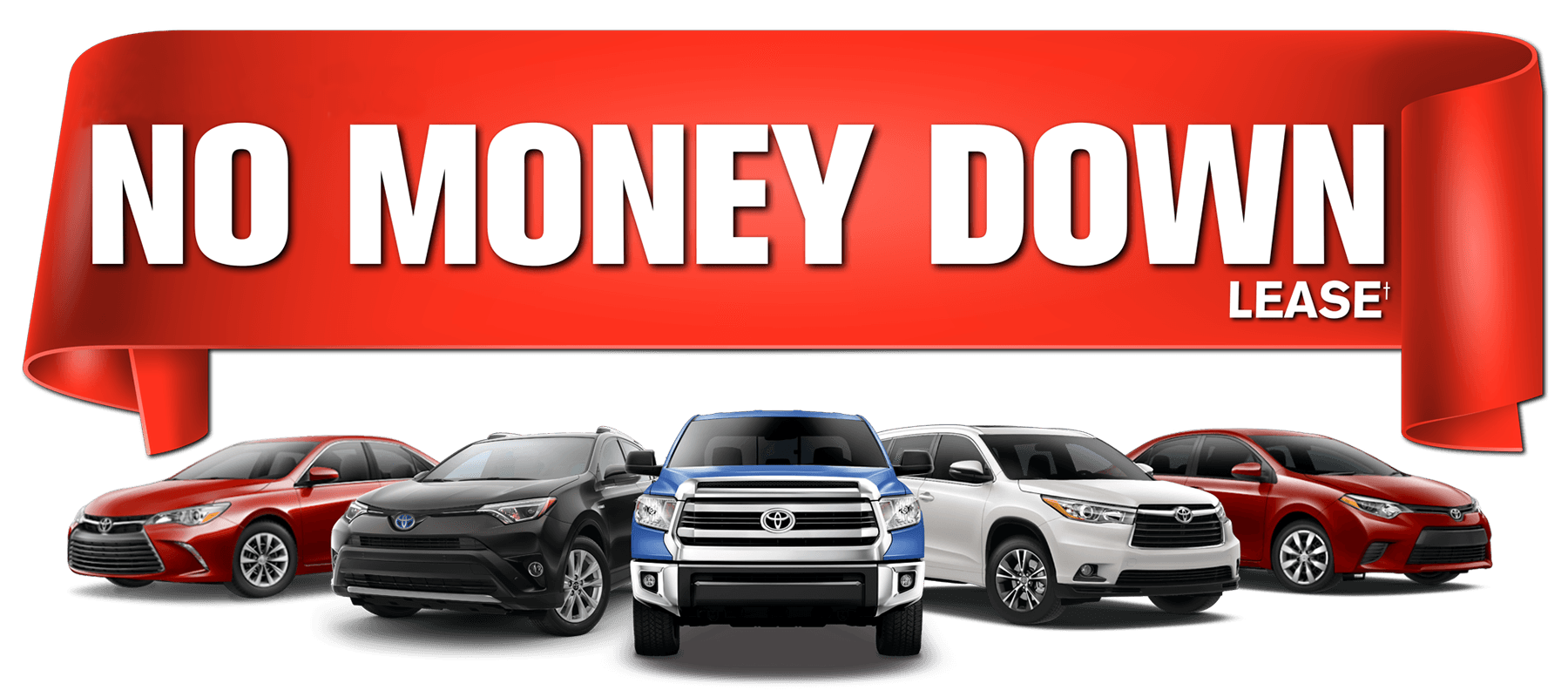 No Money Down Banner