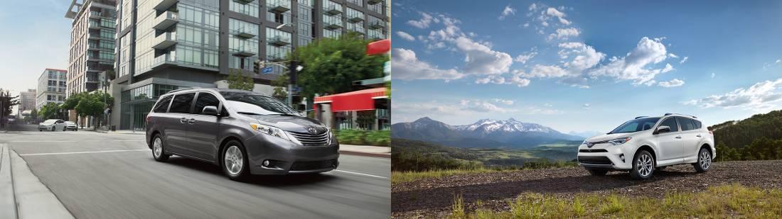 Toyota Minivans vs Suvs