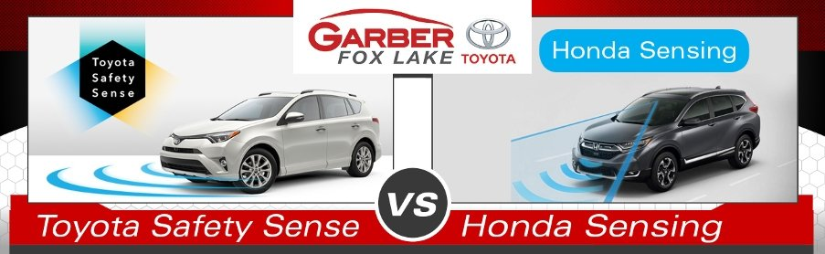 Toyota Safety Sense vs. Honda Sensing