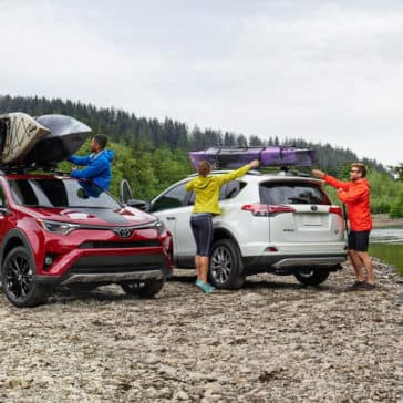 2018 Toyota RAV4 Adventure AWD and Platinum AWD