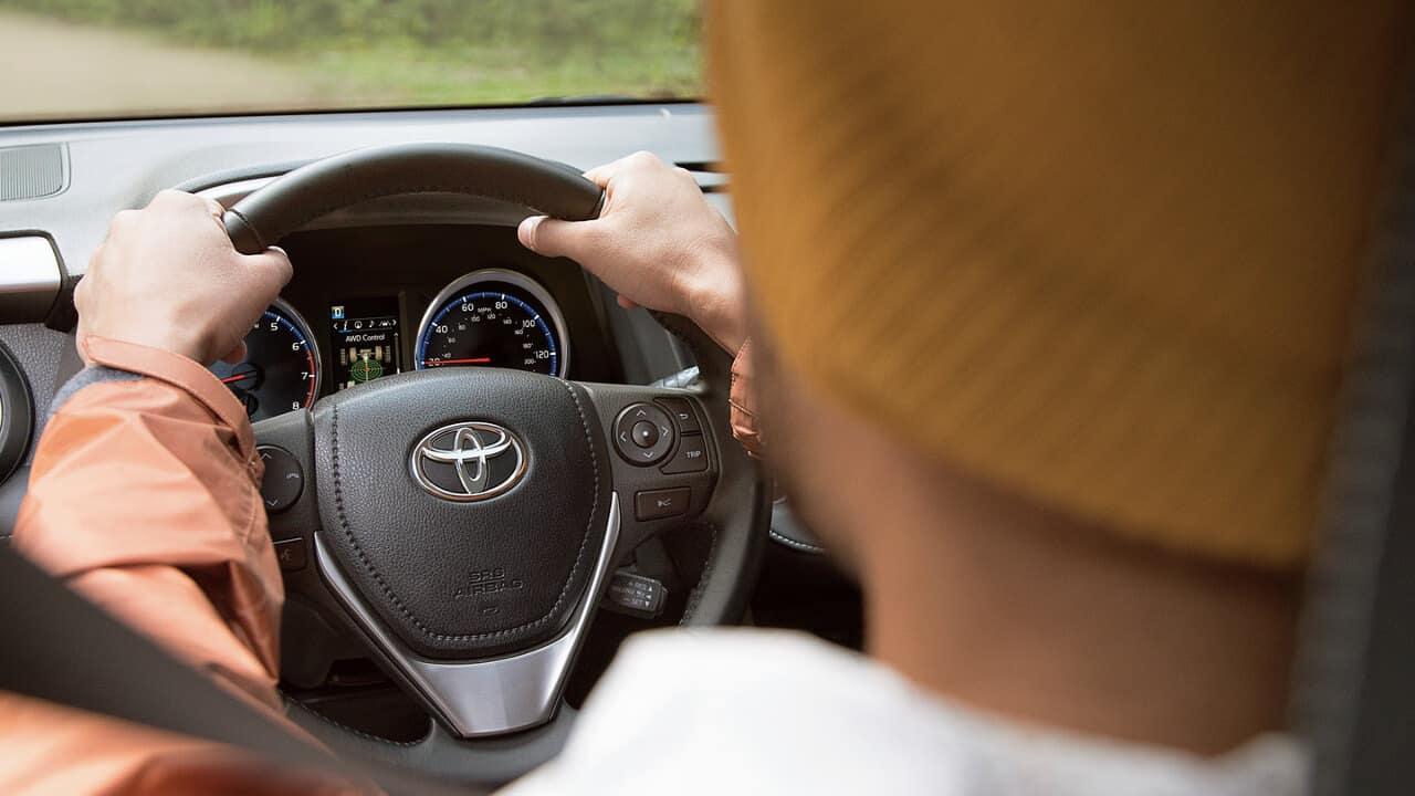 Driver in 2018 Toyota RAV4