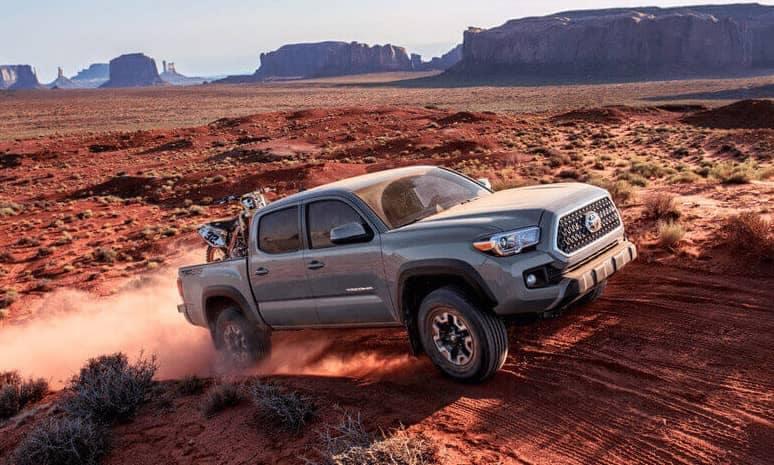 2018 Toyota Tacoma Offroading