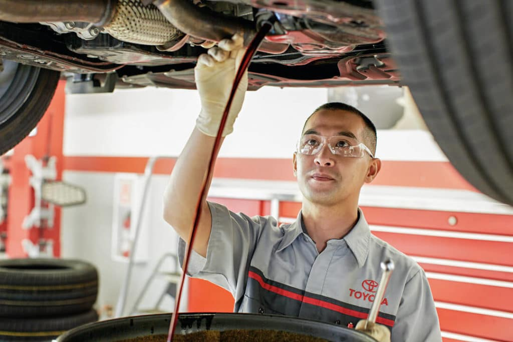 Toyota Service Oil Change