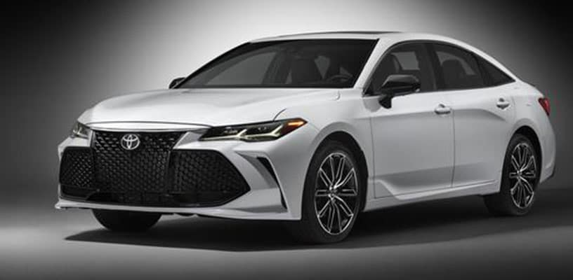 See The All New 2019 Toyota Avalon Garber Toyota