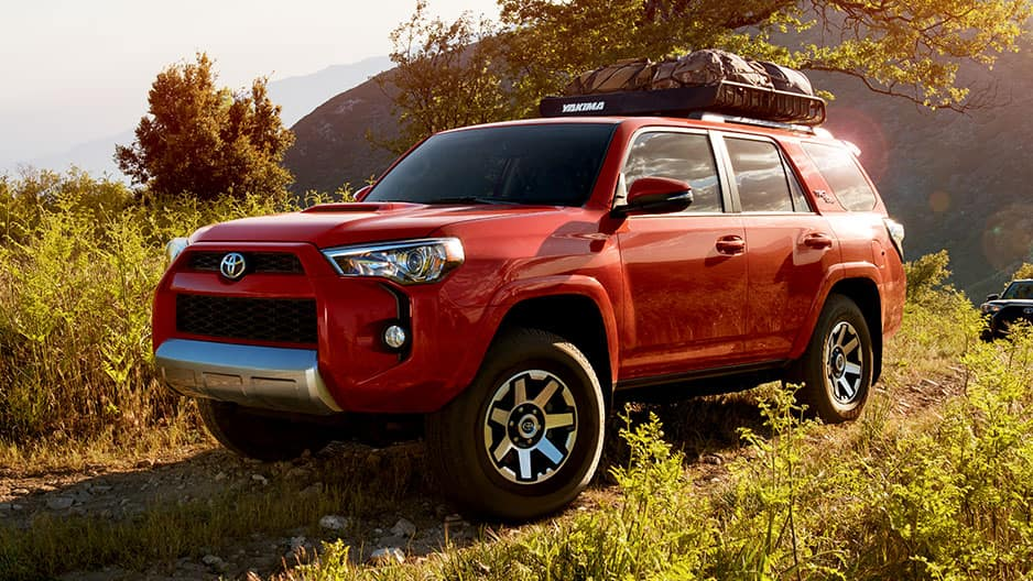 Exterior Features of the New Toyota 4Runner at Garber in Fox Lake, IL