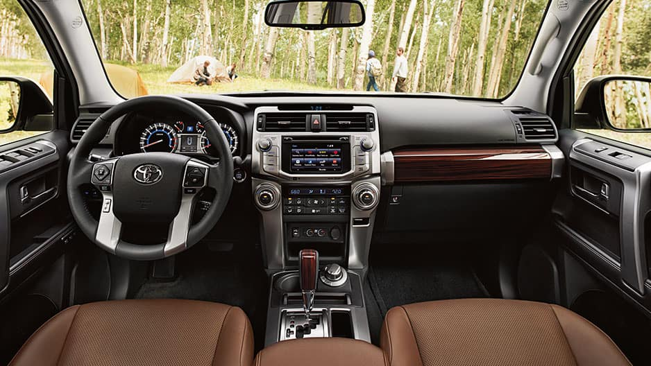 Interior Features of the New Toyota 4Runner at Garber in Fox Lake, IL