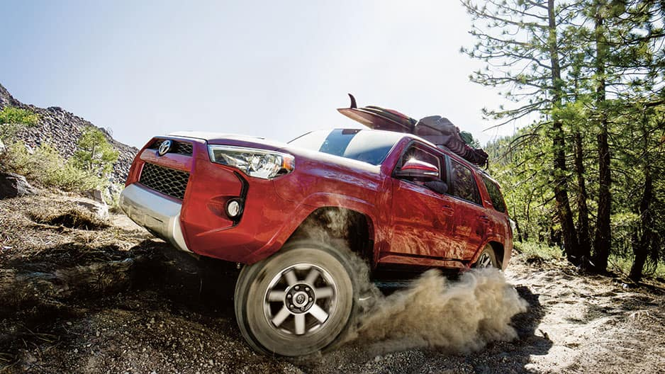 Performance Features of the New Toyota 4Runner at Garber in Waukegan, IL