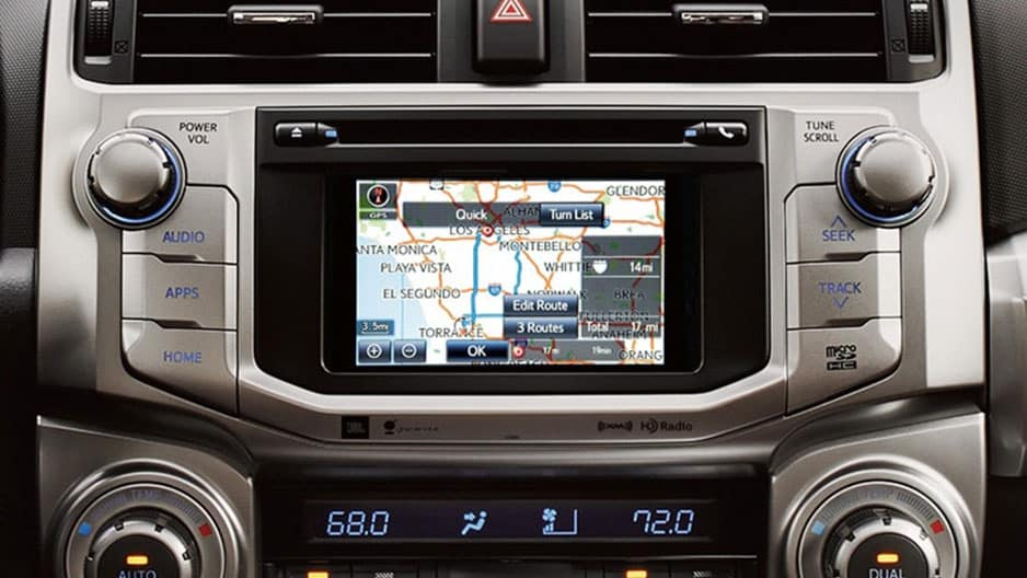 Technology Features of the New Toyota 4Runner at Garber in Waukegan, IL