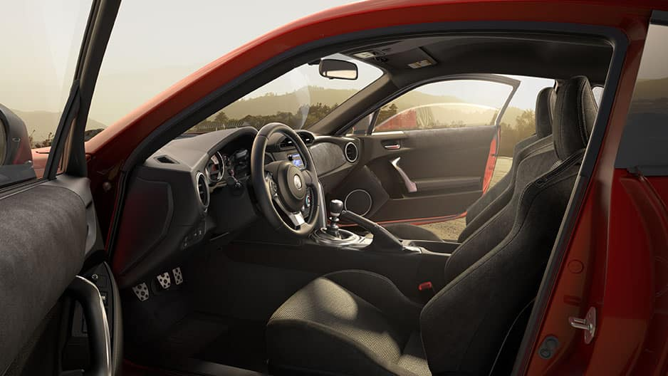 Interior Features of the New Toyota 86 at Garber in Fox Lake, IL
