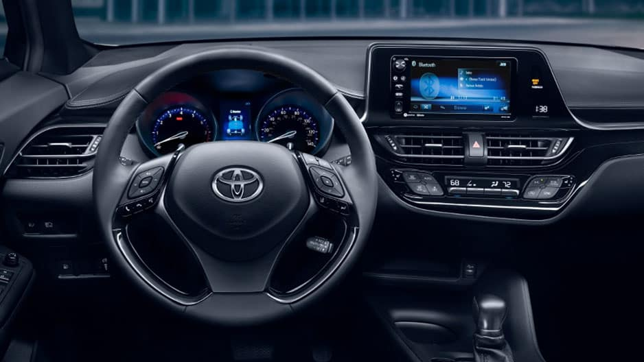 Interior Features of the New Toyota C-HR at Garber in Fox Lake, IL