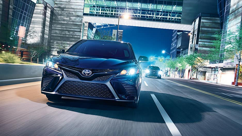 Performance Features of the New Toyota Camry at Garber in Waukegan, IL