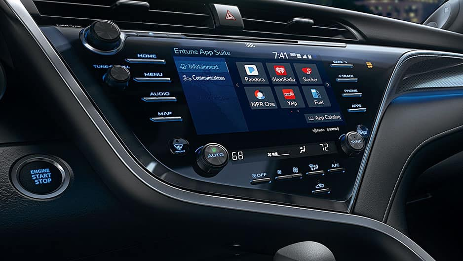 Technology Features of the New Toyota Camry at Garber in Waukegan, IL
