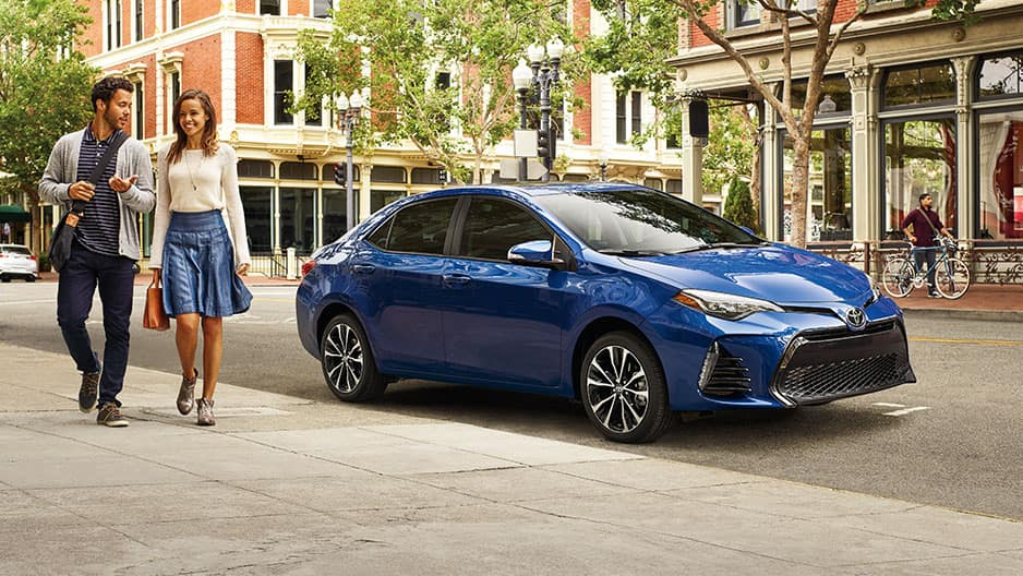 Exterior Features of the New Toyota Corolla at Garber in Fox Lake, IL