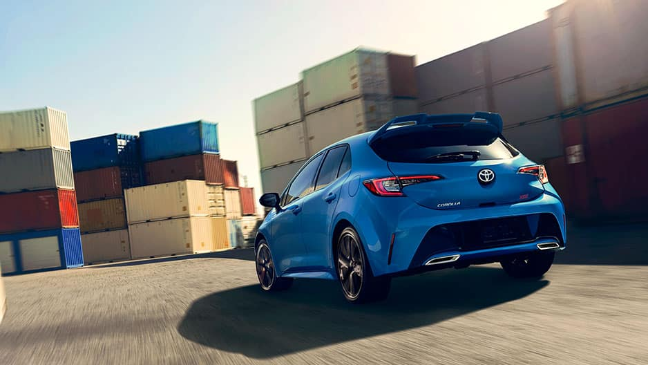 Performance Features of the New Toyota Corolla Hatchback at Garber in Waukegan, IL