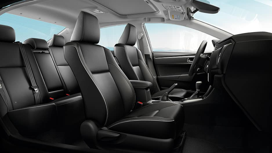 Interior Features of the New Toyota Corolla at Garber in Fox Lake, IL