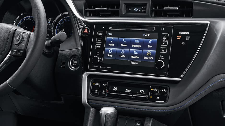 Technology Features of the New Toyota Corolla at Garber in Waukegan, IL