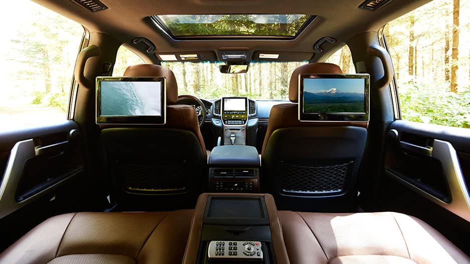 Interior Features of the New Toyota Land Cruiser at Garber in Fox Lake, IL