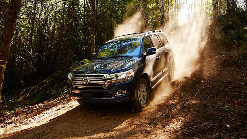 Performance Features of the New Toyota Land Cruiser at Garber in Waukegan, IL