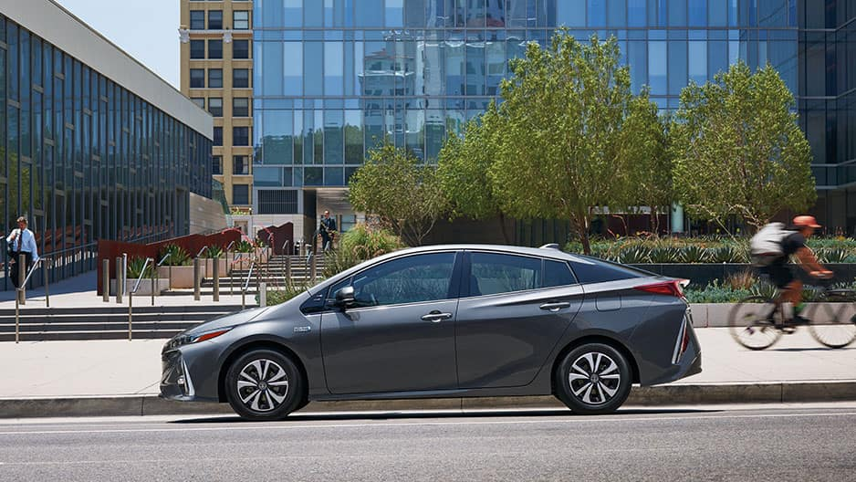 Exterior Features of the New Toyota Prius Prime at Garber in Fox Lake, IL
